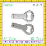 Free Shipping Bottle Opener Shape USB Flash Drive (gc-680)
