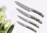 Ceramic Knife Set with Pattern (SE-5421)
