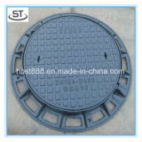 Ductile Co 600mm Manhole Cover with Lock and Hingle