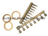 Brass Alloy Sand Casting&Forging Tooth Part