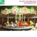 Amusement Ride Carousel with Trailer for Sale (BJ-carousel 02)