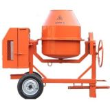 China Qls 400m Manual Electric Concrete Mixer - China ...