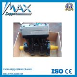 Sinotruk HOWO Truck Engine Parts Double Cylinder Air Compressor