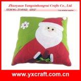 Christmas Decoration (ZY14Y622 12X12′′) Santa Claus Cushion