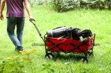 Folding Outdoor Utility Wagon Mac Sports Green Garden Cart Wheel