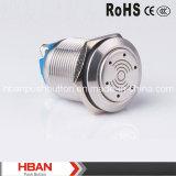 Hban (19mm) Screw Terminal Can Illumination IP50 12V Buzzer