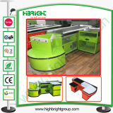 Supermarket Fast Check-out Counter Table with New Design