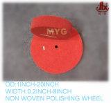 "6""X2"" 5p 80# Red Deburring Nylon Wheel"