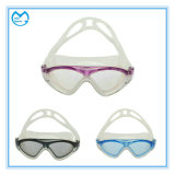 Anti Slip Silicone Mirrored PC Swimming Glasses for Kids