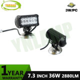 36W 7.3inch CREE LEDs Offroad LED Light Bar for Jeep