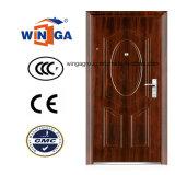 Heatransfer Color Metal Iron Steel Security Door (W-S-125)