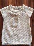 Lovely Texture Short Sleeves Knitted Dress