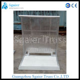 Stage Barrier with Trolly Barrier Aluminum Road Barricade Road Safety Barrier