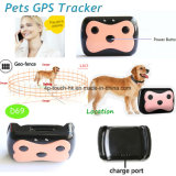 New Waterproof Pet GPS Tracker with 2 Way Communication (D69)