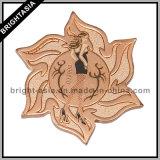The Flower-Shaped Medal, Professional Custom Souvenir Medal (BYH-101052)
