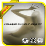 China Frosted Glass Bathroom Window with CE / ISO9001 / CCC