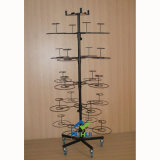 Movable Rotating Cap Display Stand (PHY221)