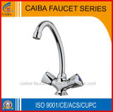 New Design Fashionable Double Handle Kitchen Faucet