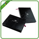 Black Paper Drawer Box with Texture Paper