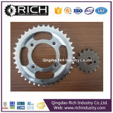 Motorcycle Parts Rolller Chain Sprocket Whosale Low Price/Roller Chain Sprocket/Roller/Wheel Assembly/CNC Machining/Tractor Parts/Alloy Wheel Part