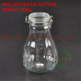 3L Seal Glass Jar Food Glass Container