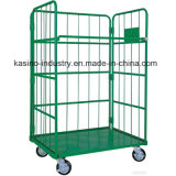 Foldable Storage Logistic Wire Mesh Roll Container, Roll Pallet, Trolley (High quality)