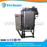 Multi-Plate Screw Press Sewage Treatment Device for Eletroplating Industry Better Than Belt Press