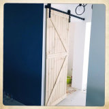 Barn Doors for Home with Black Classic Sliding Wall Mounted Hardwares