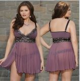 Plus Sizes Fat Women Sexy Sleepwear Fit Lingerie