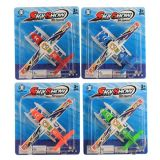 En71 Approval Plastic Toys Friction Model Plane with 4 Colors (10227672)
