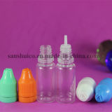 10ml Bottle for E Liquids with Childproof and Tamper Evident Cap