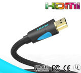 2.0 Versions 1m Blue Super Soft HDMI Cable for Computer