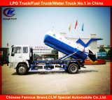 Dongfeng 6 Wheeler Sewage Suction Truck, Small Sludge Suction Truck