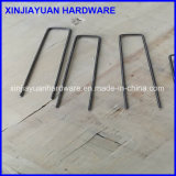 11ga Square Top Black Wire SOD Staple for Ground Cloth