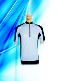 100% Polyester Man′s Dyed Cycling Jersey