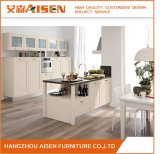 Asks-010 White Modern High End Solid Wood Kitchen Cabinet