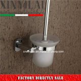 Chrome Brass Accessories of Toilet Brush Holder for Hotel Bathroom