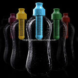 2013 Newest Product, BPA Free 18.5oz Plastic Filtered Water Bottle with Actived Carbon Filter/550ml Bobble Water Filter Bottle (CY10323)
