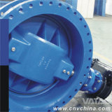 Gear Box Awwa Double Flange Butterfly Valve