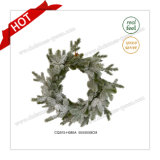 D55cm Plastic Flowers&Wreaths Type Christmas Artificial Flower Christmas Decorations