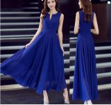High Quality Plus Size 2015 Fashion Maxi Women Chiffon Dresses