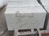 Bianco Carrara White Marble Flooring Tile with Grey Veins