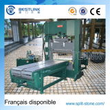 Hydraulic Multi Chisel Blade Stone Guillotine Splitter for Natural Stone Splitting with Conveyors