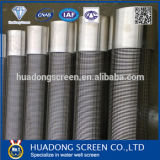 219mm Continuous Slot Water Well Screen/Johnson Pipes