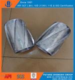 Spiral Glider Aluminum Centralizer Spiral Solid Rigid Alumnium Alloy Centralizer
