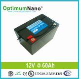 Portable LiFePO4 Lithium UPS Battery 12V 60ah