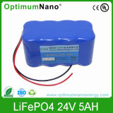 Lithium Battery 24V5ah with BMS Internal for Wireless POS Machine