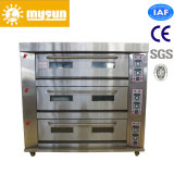 6 Trays Double Deck Bread Baking Oven