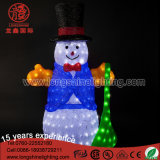 LED 200cm Christmas Street Decoraion 3D Motif Snowman for Outdoor Ce&RoHS