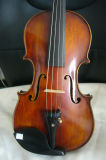 Handmade Flamed Violin with Case and Bow